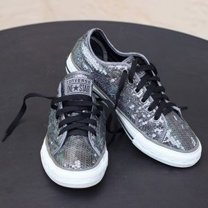 Converse Shoes - Converse One Star Sneakers - Mermaid Sequined